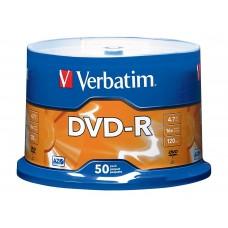DVD-R Verbatim 4.7GB 16X 120min 50T